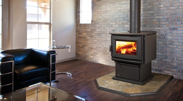 Pro-Series F5100 Extra Large Wood Stove - Regency Wood Fireplaces Archives - Energy Resources