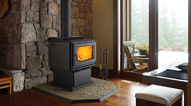 Pro-Series F5100 Extra Large Wood Stove