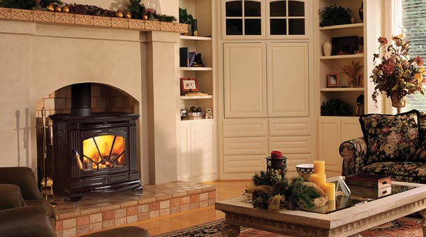 Wood Stove In Fireplace WB Designs - Wood Stove In Fireplace WB Designs