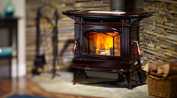 Hampton H300 Large Wood Stove Energy Resources