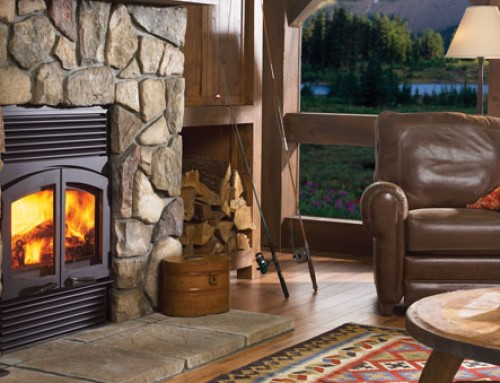 Classic R90 Large Wood Fireplace