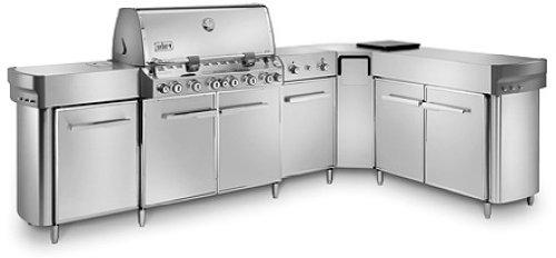 weber summit grill center stainless steel